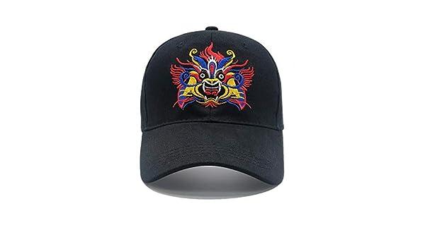 NKSS Estilo chino Máscara de ópera de Beijing Sombrero de béisbol ...