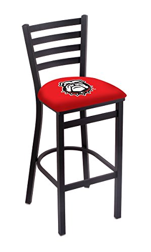 Holland Bar Stool L004 University of Georgia Bulldog Logo Stationary Bar Stool, 30