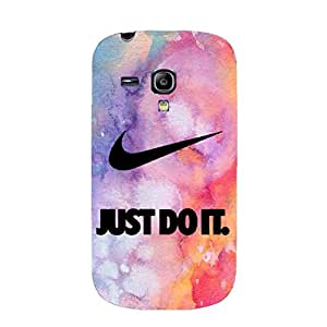 Unique Colourful Design Nike Logo Phone Case 3D Plastic Phone Case for Samsung Galaxy S3 Mini Nike Series
