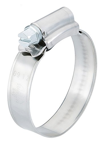 Scandvik 08134037038 Stainless Steel Hose Clamp (20, 32-44 mm, 1 1/4
