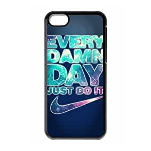 Hard Plastic Cover Case NIKE logo Just Do It iPhone 5C Case