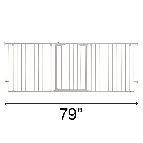 Dreambaby Newport Adapta Gate (White) by Dreambaby (Image #9)