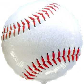 Anagram International A11703001 Championship Baseball Balloon Pack, (Baseball Halloween Ideas)