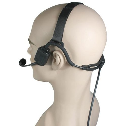 Pryme NBP-BH10 Bone Conduction Headset for ICOM Multi-Pin Radios (See List) by Pryme (Image #1)