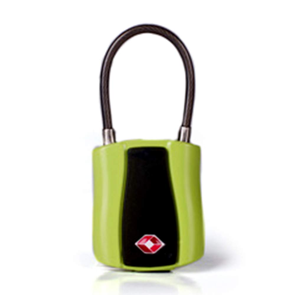 Safedome iTrack - Smart Luggage Padlook (Green) by Safedome