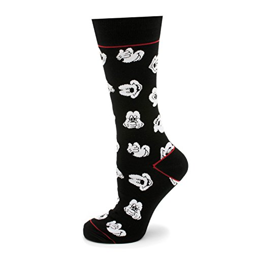 Mickey Black Socks - 5