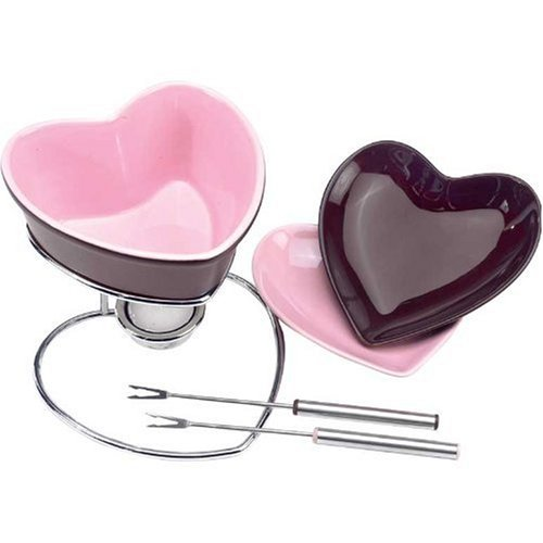 heart fondue set - 7