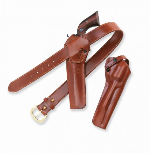 Galco SAO Single Action Outdoorsman Holster for Ruger .357 Blackhawk 4 5/8-Inch (Tan, Right-hand) ()
