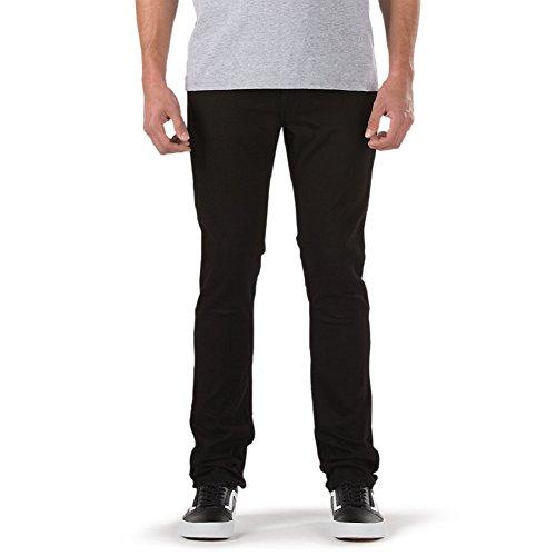 Vans Skinny Jeans - Black Overdye-26 X (Skinny Vans)