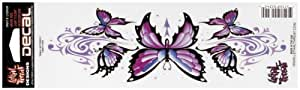 Pilot LT-00436 Purple Tribal Butterfly Graphic Lethal Threat Decal