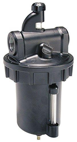 Parker L606-08W/M8 Lubricator, Zinc Bowl with Sight Gauge, Manual Drain, 350 scfm, 1'' NPT by Parker