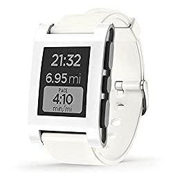 New And Geniune Pebble E-Paper Watch for iPhone and Android - Arctic White BRAND NEW FACTORY SEALED - 1 YEAR WARRANTY