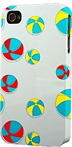MMZ DIY PHONE CASEBeach Balls Pattern Dimensional Case Fits Apple iphone 5c