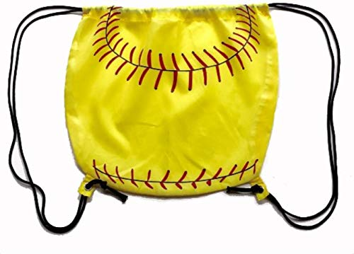 Snazzy Sports Co. Softball Drawstring Bag (Round) ()