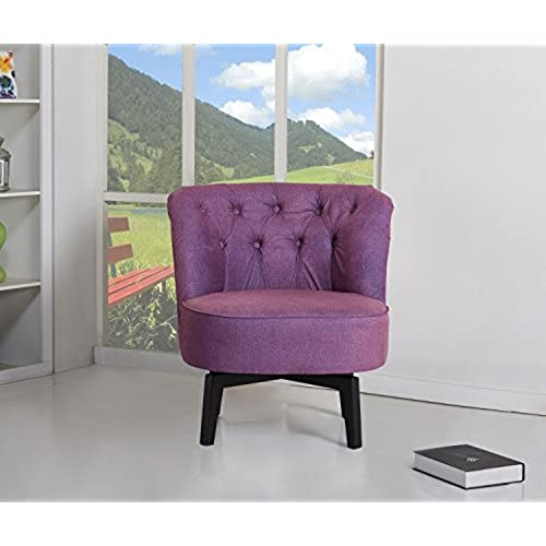swivel chairs for living room. Gold Sparrow Raleigh Swivel Chair  Purple Accent Chairs for Living Room Amazon com