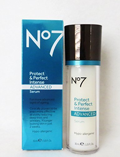 amp; Perfect Bottle Serum Boots Anti Protect No7 Intense oz Boots by 1 Aging Advanced 4EgBHwFnq
