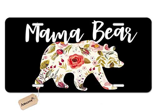 bear license plate frame - 4