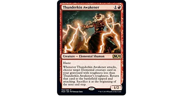 MTG Core 2020 Thunderkin Awakener Magic the Gathering