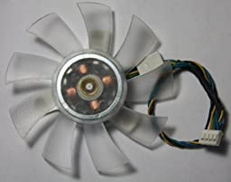 ATI nVidia ASUS Sapphire etc Video Card 75mm Fan 40mm mounting 4Pin