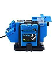 Boorslijper, 96 W, multifunctionele boorslijper, 1350 rpm, beitelboor, hoek instelbaar 15 ~ 50 graden universeel slijpstation