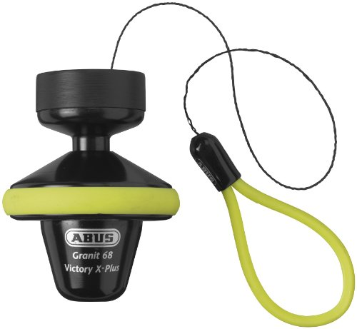 Abus Granit Victory X-Plus 68 Roll Up Disc Lock - Yellow - 14mm 4003318 56564 9 by ABUS
