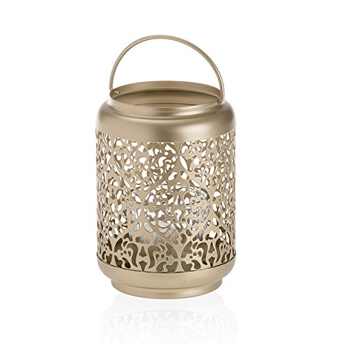 YANKEE CANDLE Champagne Pearl Votive Lanterna Holder 1579412
