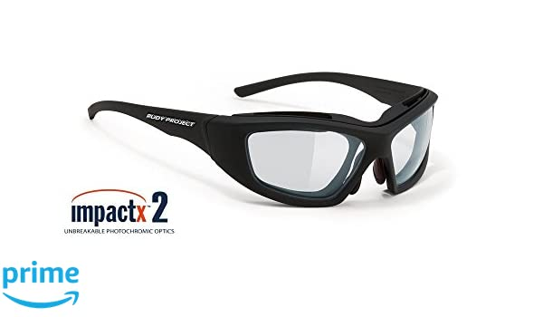 515686d1e1 Amazon.com  Rudy Project Guardyan Matte Black with Impactx-2 Photochromic  Clear to Black Lenses  Sports   Outdoors