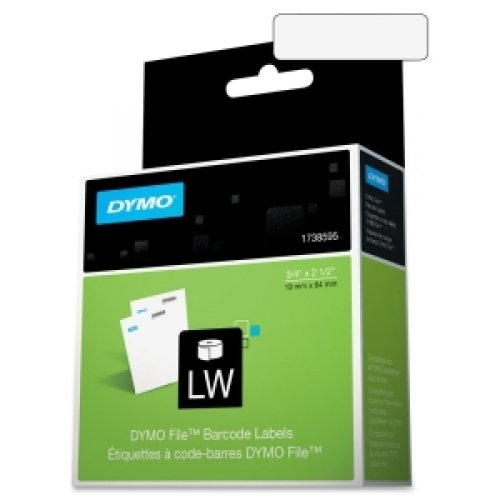 DYMO 1738595 / DYMO FILE LABELS - 450 FITS ALL DYMO LABELWRITER PRINTERS (Software Dymo File Office)