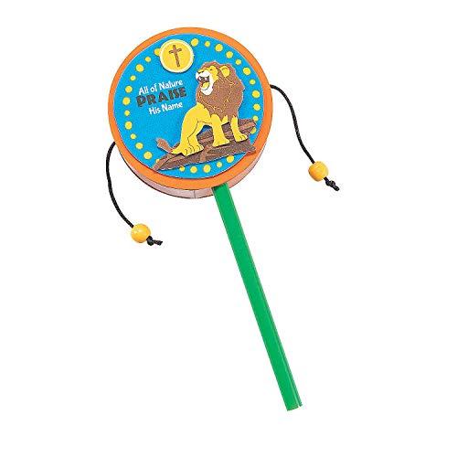 (Fun Express - African Safari Vbs Drum ck - Craft Kits - Party Craft Kits - Toys - 12)