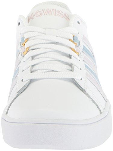 Celestial K Women's Sneaker Court CMF Lilac Gray Pershing Blue White Swiss qPqUg