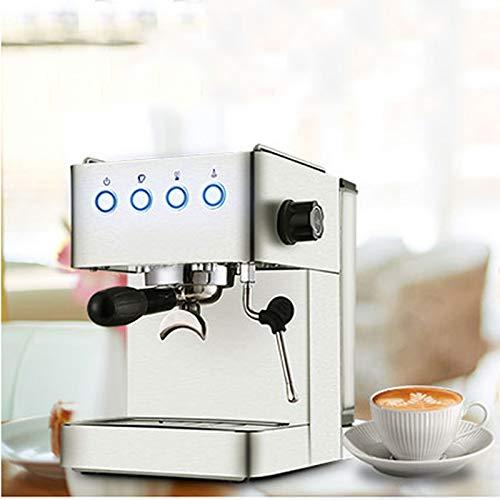 LJHA kafeiji Máquina de café Espresso, máquina de café de Bomba semiautomática doméstica, máquina de café de Filtro 230 mm × 285 mm × 325 mm metálico (Color ...