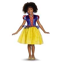 Disguise Costumes Classic Disney Princess Snow White Costume, Medium/7-8