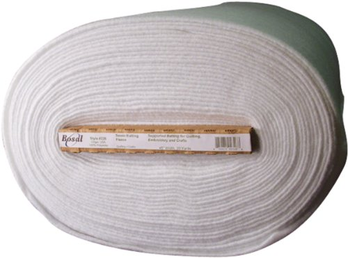 Bosal Sew in Batting, 45-Inch by 20-Yard, White by Bosal