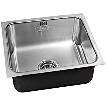 Just Manufacturing USF-ADA-1618-16,5.5,DCR-R Single Bowl - Undermount - W/Integra Flow - 16 Gauge Armor - Heavey Duty Industrial Grade Stainless Steel - Ada Compliant - Less Faucet Ledge -