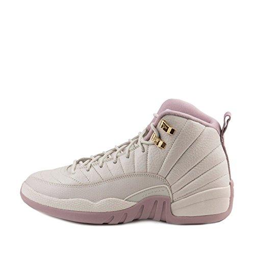 Nike Heren Jordan 12 Retro Prem Hc Gg Erfgenaam Beige (licht Bot / Mtlc Goud Star-plum Mist