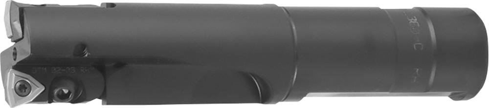 Kyocera CD-1660-C 1xD Indexable Core Drill 1.76in Drill Diameter 6.25in Overall Length 2.75in Max Depth CD Style 1.25in Shank Diameter Whistle Notch 2 Inserts Coolant Through