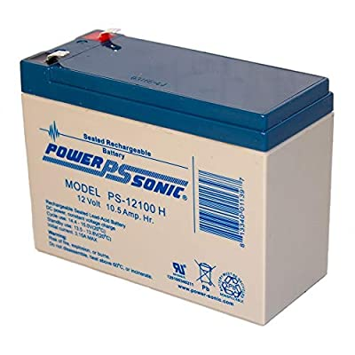 Power Sonic 12V 10.5AH Battery for Razor Dirt Quad Version 1-8 : Sports & Outdoors