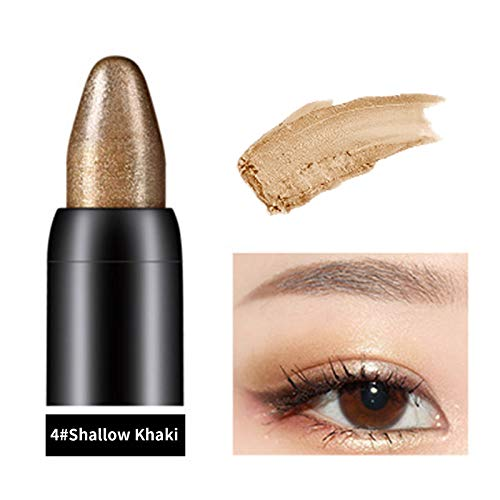 Eyeshadow Pencils for Women Eyeshadow Pen Glitter Eyeshadow Stick, Shimmer Eyeshadow, Long-lasting Waterproof Pearlescent Highlighter, Shiny Colored Sticks Eye Makeup Beauty Makeup Tools