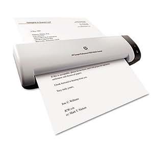 HP Scanjet L2722A escaner - Escáner (216 x 356 mm, 600 x 600 DPI, 48 Bit, alimentación de hojas, Negro, Color blanco, CIS)