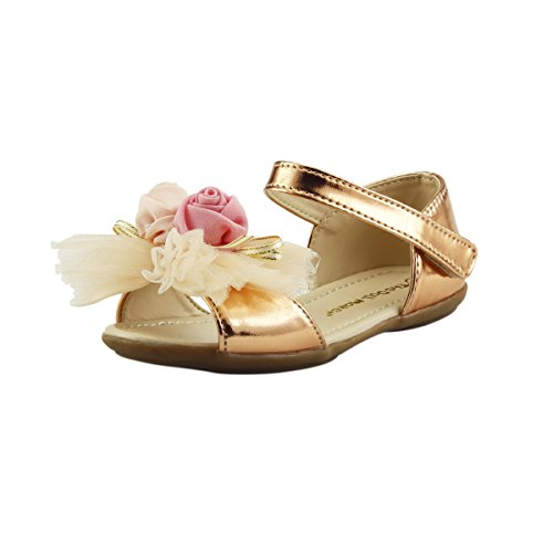 05 Gold Women Sandal - 4