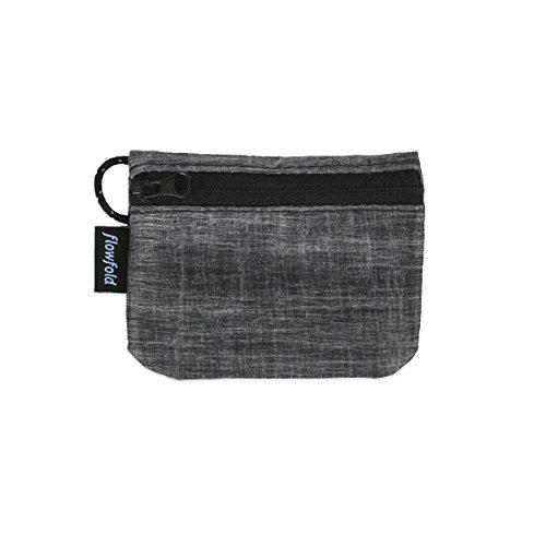 Women's Mini Coin Purse Zipper Pouch Wallet with Minimalist Card Sleeve