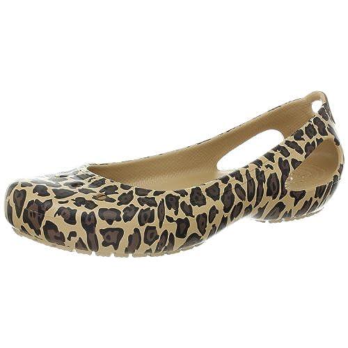 3cc93db995727f Crocs Women s Kadee Leopard Flat free shipping - appleshack.com.au