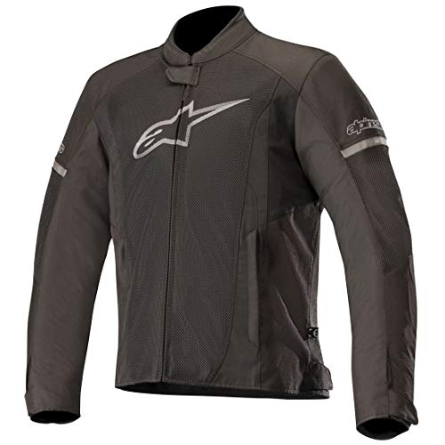 (T-Faster Air Textile Street Motorcycle Jacket (L, Black Black))