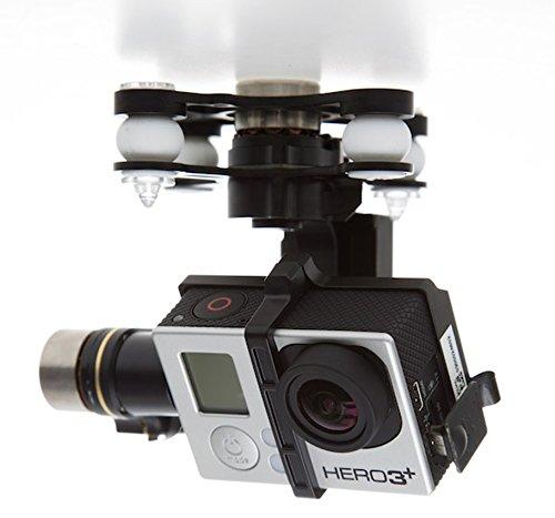 DJI-Zenmuse-H3-3D-Montaje-de-Cmara-de-Accin-Gimbal-para-Dron-Cuadrocptero-con-Antena-UAV-para-Phantom-2-UAV-Compatible-con-GoPro-Hero233-y-Cmaras-de-Accin-Negro