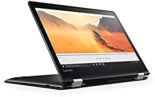 "Lenovo Yoga 510-14AST Convertibile con Display da 14.0"" HD Touch, Processore AMD A9-9410, RAM 4 GB, 1 TB HDD, Scheda Grafica Integrata, S.O. Windows 10 Home, Nero, Tastiera Italiana"