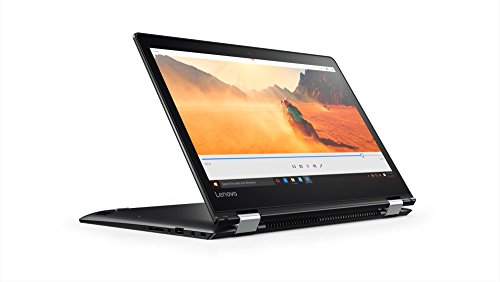 Lenovo Flex 4 80SA0003US 2-in-1 Laptop/Tablet 14.0 inches Full HD Touchscreen Display (Intel Core i5, 8 GB RAM, 1TB HDD, Windows 10 Home), Black