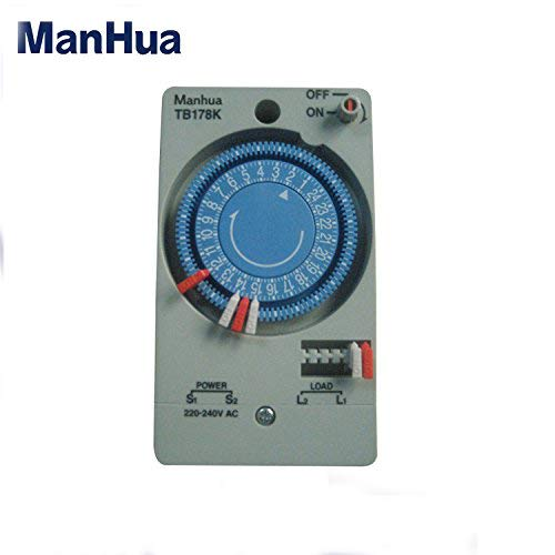 Manhua 1 Circuit 220VAC1500W Single Machine Single Input TB178K Timer Switch