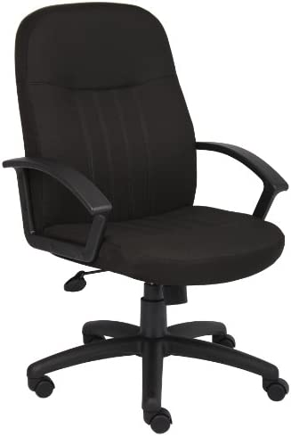 Boss Office Products Mid Back Fabric Managers Chair