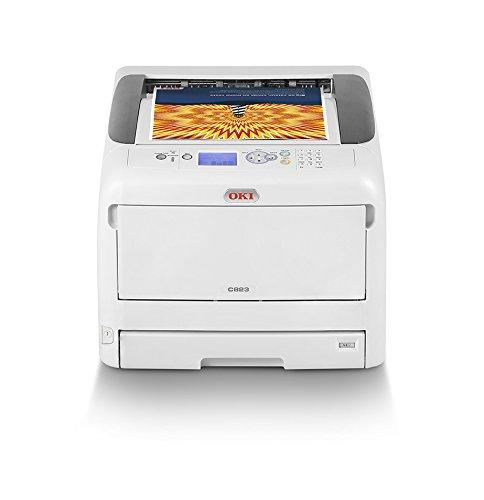 22 opinioni per OKI C823n Stampante con tecnologia LED, A3, a colori, 34 pagine al minuto