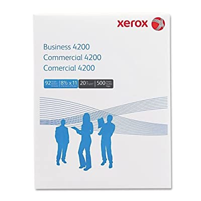 Xerox Business Copy/Fax/Laser Inkjet Printer Paper, 500 Sheets